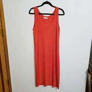 Calvin Klein Collection Orange Dress...M